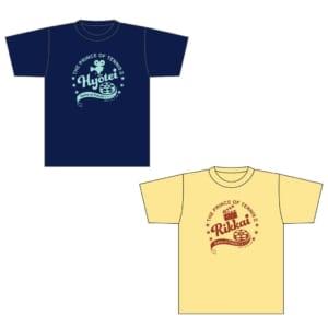 「新テニスの王子様 氷帝vs立海 Game of Future」アニメイトフェア Tシャツ 氷帝/立海