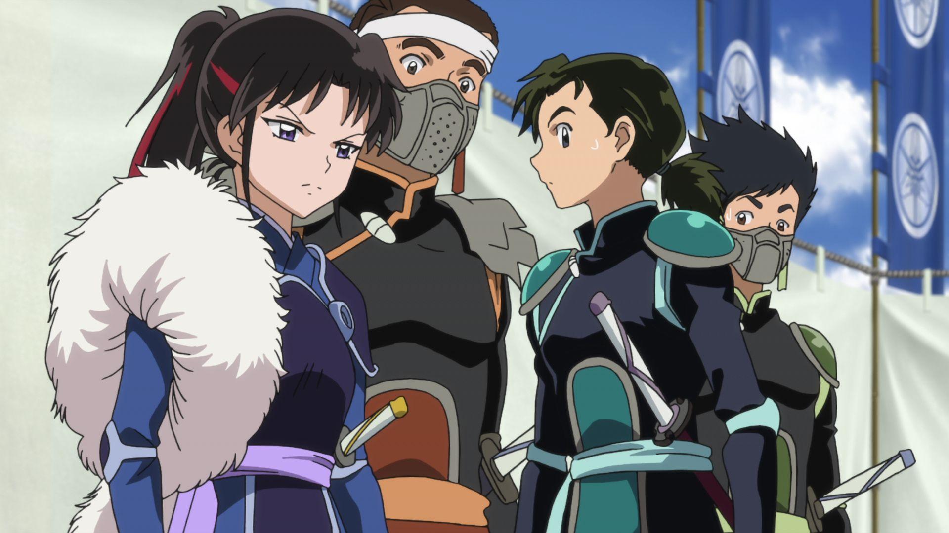 TVアニメ「半妖の夜叉姫」第19話先行カット