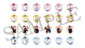 「A3!」×「アニメイトカフェ」メニュー注文特典:コースター