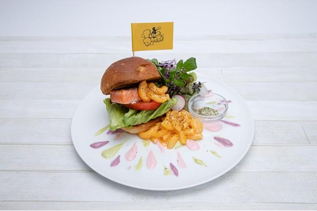 「ヒプノシスマイク2nd D.R.B コラボレーションカフェ」渋谷店限定メニュー・Fling Posse~ハンバーガー~