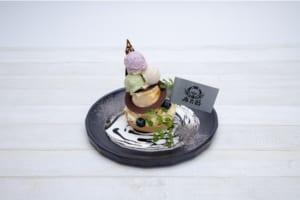 「ヒプノシスマイク2nd D.R.B コラボレーションカフェ」新宿店限定メニュー・麻天狼~ベイクドチーズタルト~
