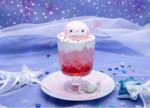 「コウペンちゃん 元気になるまほうカフェ」ピンクコウペンちゃんのまほうソーダ