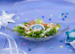 「コウペンちゃん 元気になるまほうカフェ」コウペンちゃんのシーザーサラダ