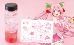 アニメイトカフェ×桜ミク 桜ミクソーダー♡ 2021