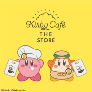 「Kirby Café THE STORE」ロゴ