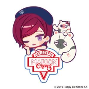 「エリオスライジングヒーローズ」×「マリオンクレープ」ロゴ
