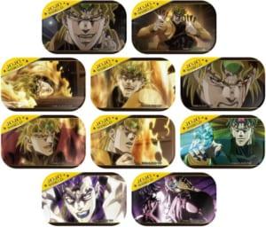 「JOJO WORLD」第1部ミニゲーム 第3部ミニゲーム「DIOのきさま!見ているなッ!」B賞:カド丸缶バッジ(全10種)