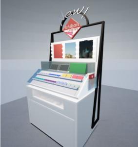 一番くじ公式ショップ 池袋サンシャインシティ店 バーチャルメイクシミュレーションスポット