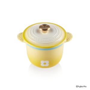 「ル・クルーゼ」ドラえもんコレクション ココット・エブリィ 18ドラミ (ゴールドツマミ)