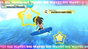 スマートフォン向けアプリ「WAVE!!〜波乗りボーイズ〜」ミニゲーム2