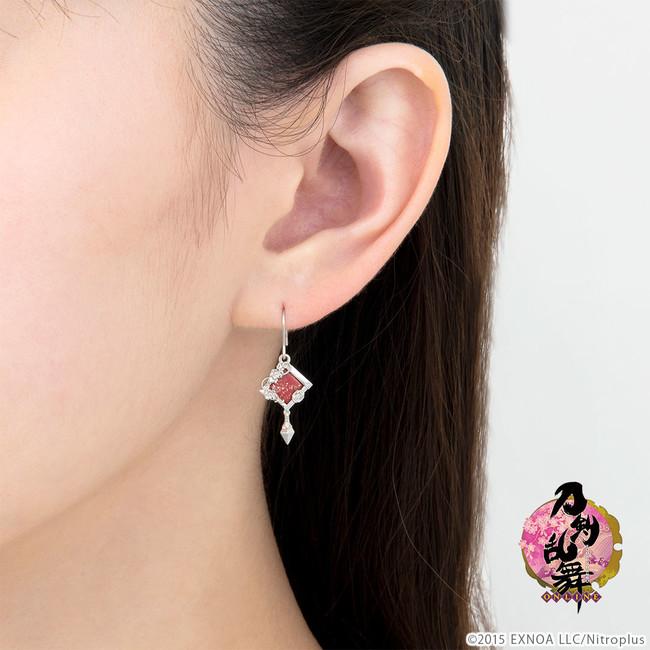 「刀剣乱舞-ONLINE-」蒔絵 モチーフピアス