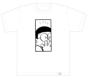 ドラえもん1コマ拡大鑑賞展 1コマ拡大オーダーTシャツ
