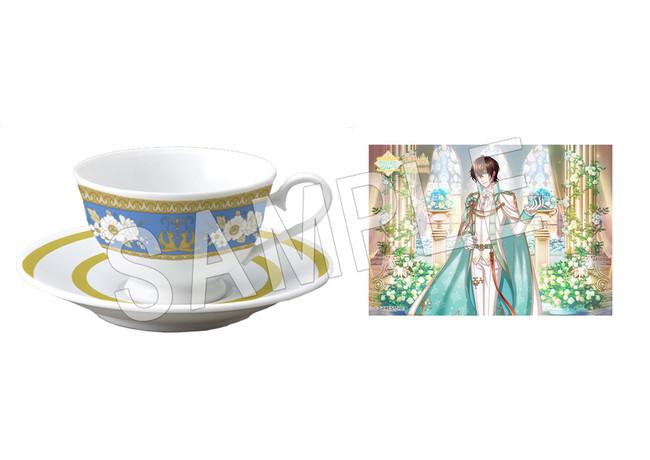 「夢王国と眠れる100人の王子様」6周年記念Anniversary store in 渋谷マルイ紅茶の国イメージ ティーカップ&ソーサー
