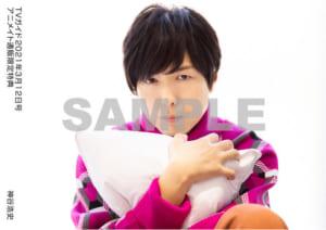 「TVガイド2021年3/12号」神谷浩史さん 特典生写真 クッション
