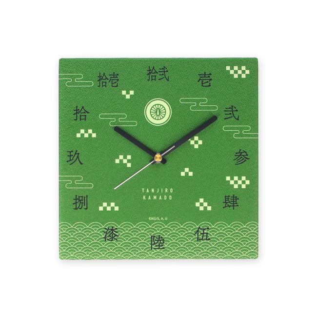 「鬼滅の刃」布で覆われたデザインが和風で可愛い時計が販売決定!各キャラの名前&モチーフがポイント