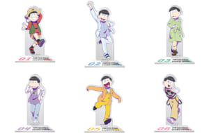 TVアニメ「おそ松さん」×「第32回 マイナビ 東京ガールズコレクション 2021 SPRING/SUMMER」アクリルスタンド