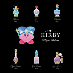 「KIRBY Mystic Perfume」デザイン