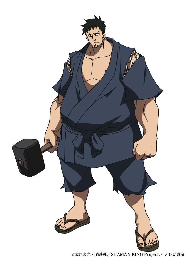 TVアニメ「SHAMAN KING」阿弥陀丸の大親友だった鍛冶師・喪助役に森田成一さんが決定!
