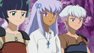 TVアニメ『半妖の夜叉姫』第20話先行カット