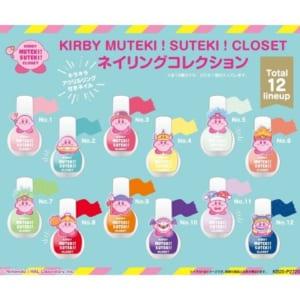 「星のカービィ」KIRBY MUTEKI! SUTEKI! CLOSET ネイリングコレクション