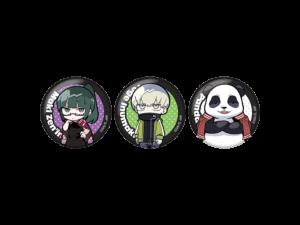 「呪術廻戦」ローソンオリジナル商品 缶バッジ 3個セットC