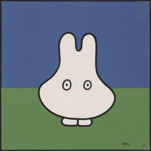 「誕生65周年記念 ミッフィー展」『うさこちゃん おばけになる』印刷原稿 2001年その1