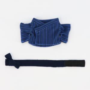 浴衣セット(縦縞・セット内容)