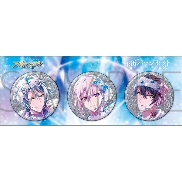 アイドリッシュセブン 缶バッジセット/Crystal Christmas