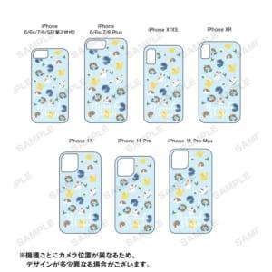 ニャンコ先生 フラワーver. グリッターiPhoneケース 対応機種