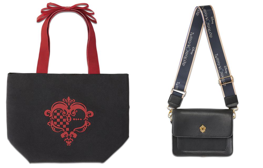 「ツイステ×一番バッグ」肩のリボン&寮章がポイントのトートバッグをGETしよう!