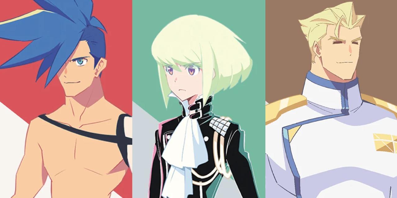 「プロメア」ガロ、リオ、クレイをイメージしたブレンドティーが登場!コラボ茶葉を使用したSPメニューの提供も