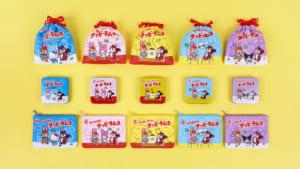「サンリオキャラクターズ クッピーラムネコラボシリーズ」マスコット、缶入りラムネ、ポーチ入りラムネ