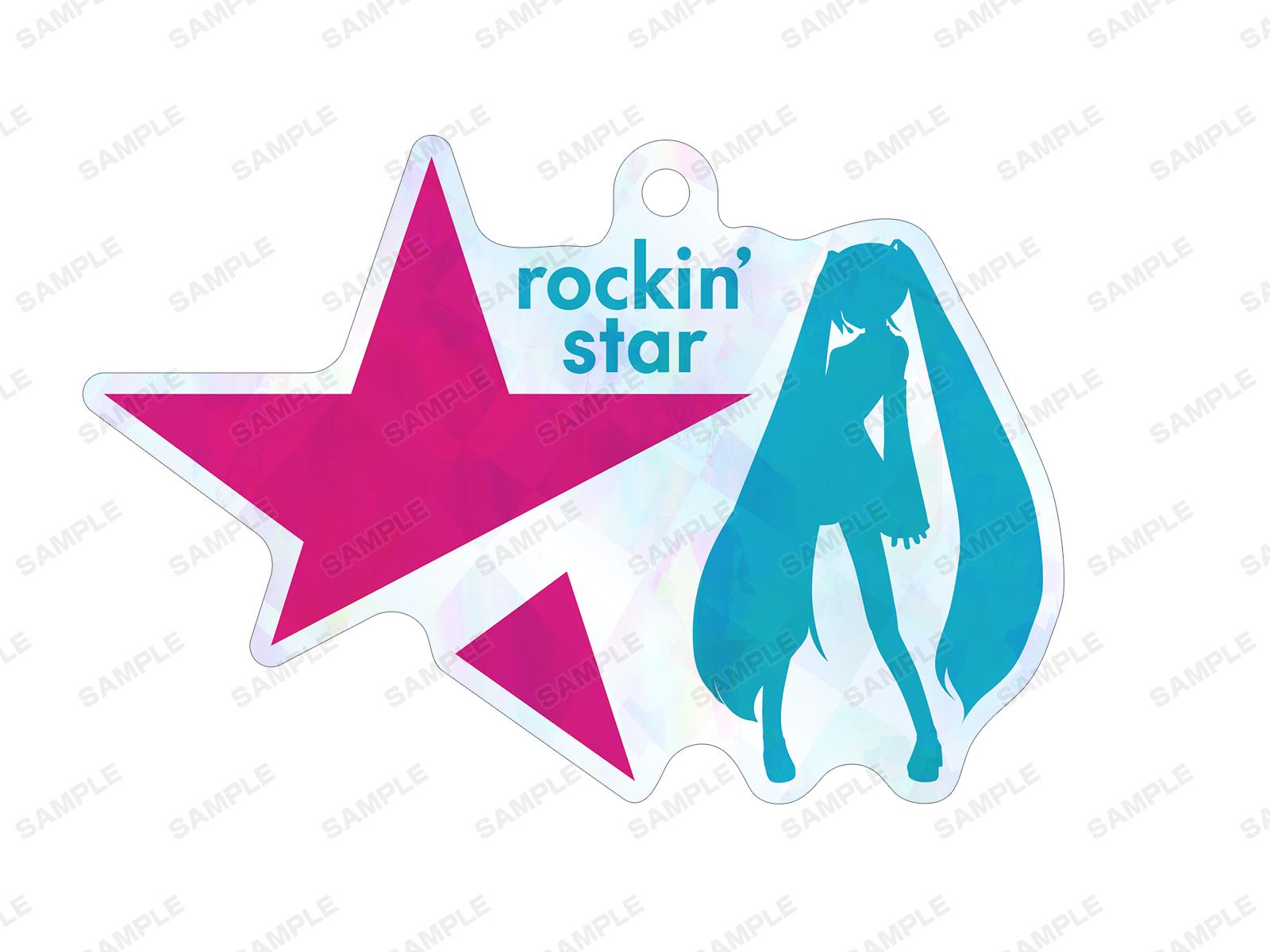 イベント限定BOX購入特典「rockin'starコラボ 描き下ろしイラスト Art by 博 トレーディングアクリルキーホルダー(全12種) 」