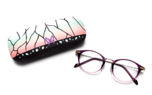 「鬼滅の刃」キャラクターメガネコレクション 胡蝶しのぶモデル ケース+メガネ