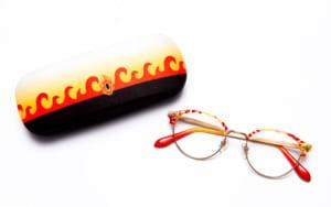「鬼滅の刃」キャラクターメガネコレクション 煉獄杏寿郎モデル ケース+メガネ