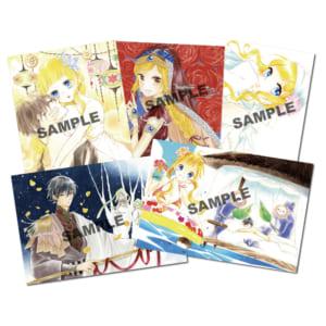 18巻発売記念『コレットは死ぬことにした』プチ原画展 in 神戸マルイポストカード(5枚セット)