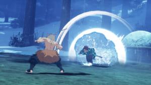 「鬼滅の刃 ヒノカミ血風譚」ゲーム画面
