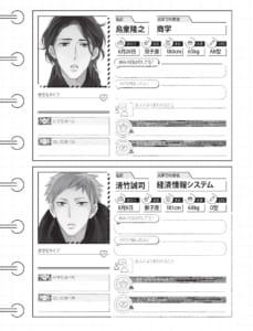 「緒川千世ファンブック ーflowー」ちら見せその③キャラクタープロフィール大解剖
