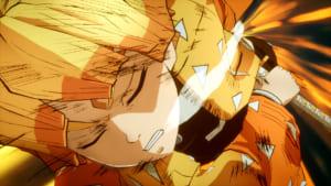 「鬼滅の刃 ヒノカミ血風譚」ゲーム内スクリーンショット 善逸 雷の呼吸