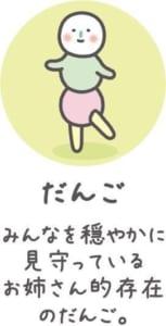 TVアニメ「チキップダンサーズ」キャラクター紹介 だんご