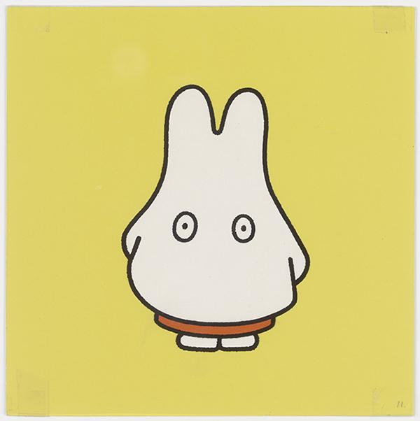 「誕生65周年記念 ミッフィー展」『うさこちゃん おばけになる』印刷原稿 2001年その2