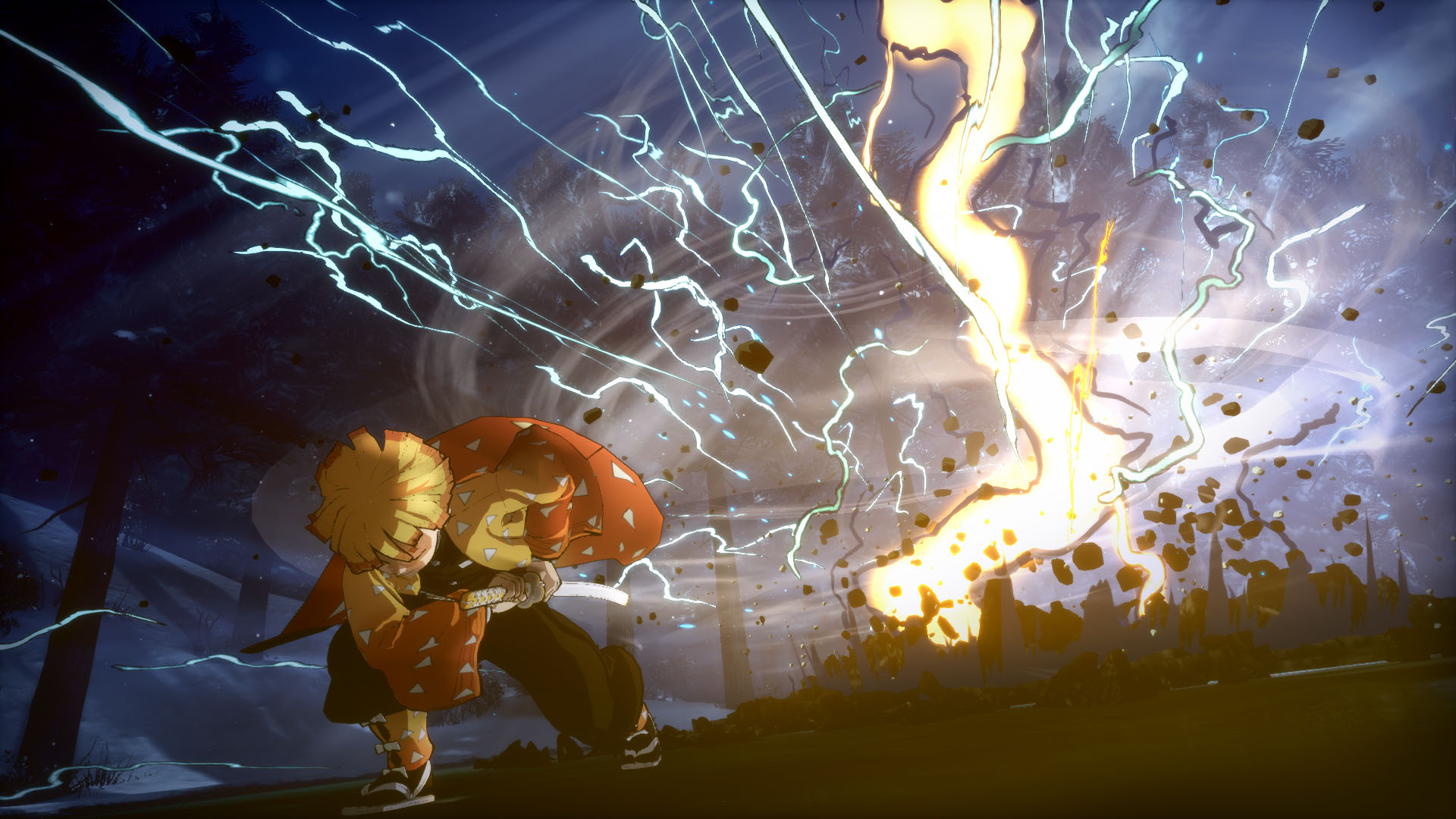 「鬼滅の刃 ヒノカミ血風譚」バーサスモードに善逸&伊之助が参戦!ビジュアル・紹介映像も公開