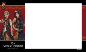 プリ機「EMMYCHUU」×「ディズニー ツイステッドワンダーランド」オリジナルシールふちデザイン第1弾 スカラビア