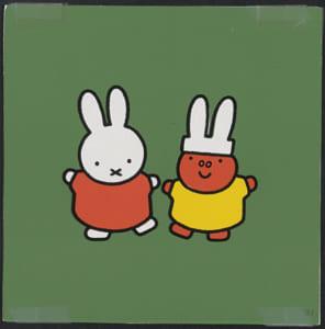 「誕生65周年記念 ミッフィー展」『うさこちゃんと ふがこちゃん』 印刷原稿 2011年
