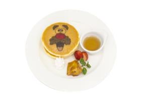 「ミスターポテトヘッドカフェ」ポテトヘッドパンケーキ~大学芋を添えて~