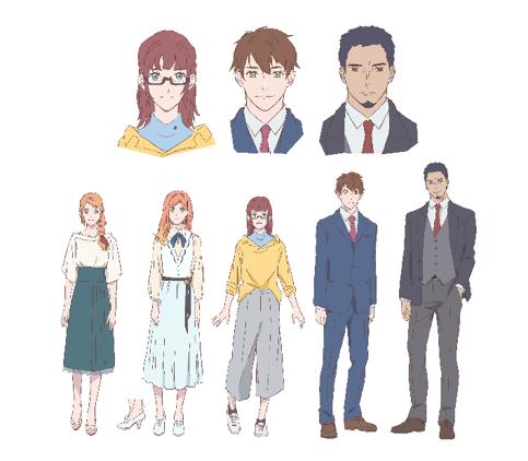 「アクネオ」× 小説投稿サイト「エブリスタ」共同コンテスト大賞受賞作品ショートアニメ「一日にして成らず」登場人物