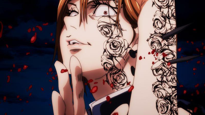 TVアニメ「呪術廻戦」第24話「共犯」先行カット到着!虎杖&釘崎が壊相・血塗の血を浴びてしまい窮地に…!