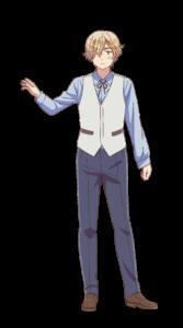 アニメ「ヘタリア World★Stars」ルクセンブルク(CV.八代拓さん)全身