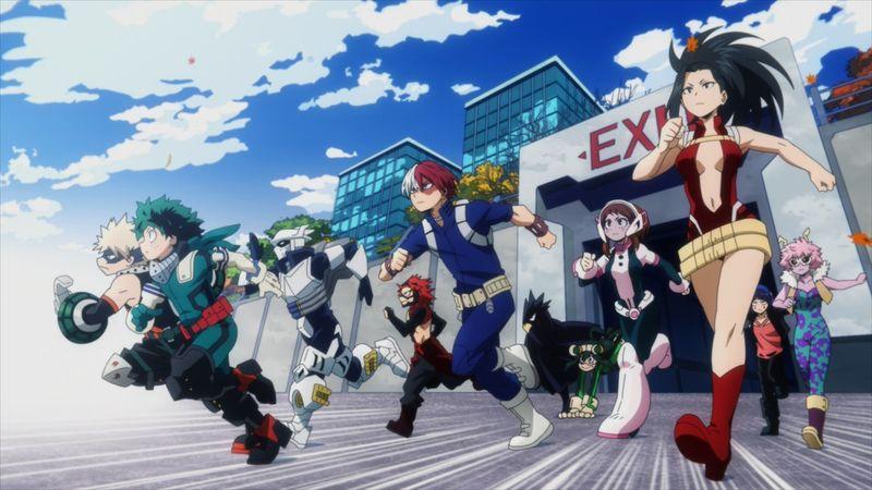 TVアニメ「僕のヒーローアカデミア」第5期1話 先行カット 1年A組