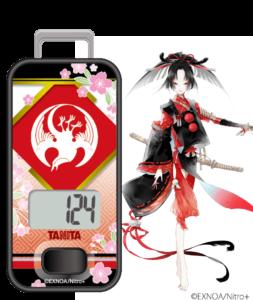 「刀剣乱舞」×「タニタ」歩数計 小烏丸
